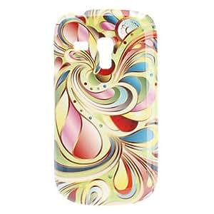 GONGXI-Flower Pattern Hard Case para Samsung Galaxy S3 Mini I8190