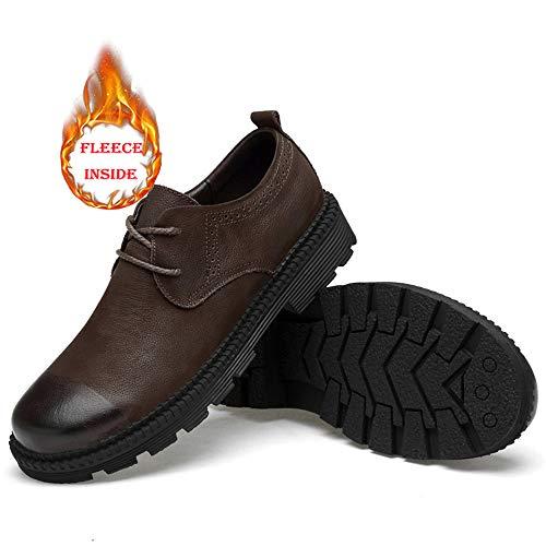 Cricket Formale Classic Scarpe Caldo Fashion Stile Warm Casual e Uomo Low Oxford da Brown Nuovo Outdoor Cotone Affari Scarpe da Morbido Convenzionale Opzionale Nuovi Top WvzBaq