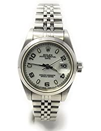 Date swiss-automatic womens Watch 69160 (Certified Pre-owned)