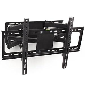 tresko lcd tv wandhalter schwenkbar neigbar schwenkbare wandhalterung universal fernseher vesa. Black Bedroom Furniture Sets. Home Design Ideas