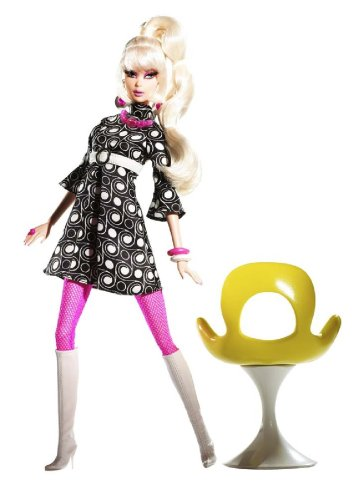 Black Label Collection - Barbie Collector Pivotal Mod Barbie Collector Giftset