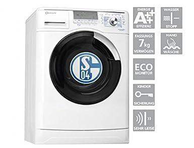 Bauknecht waschmaschine wa schalke 04 limited edition frontlader a