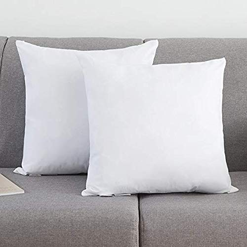 YSTHER Euro Pillow Inserts for Couch, Cotton Throw Pillows 1