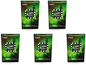 5 Paquetes de Fundas de Juego de Mesa antirreflejos arcanos Tinmen 50 Unidades tamaño Cartas Paquete de Valor, Tarot: Amazon.es: Juguetes y juegos
