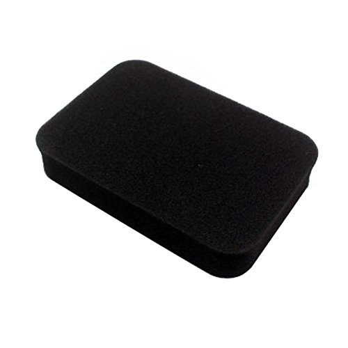 KINWAT Foam Air Filter Replacement Sponge Foam Filter Garden Tool Accessory Black 150x110x30mm