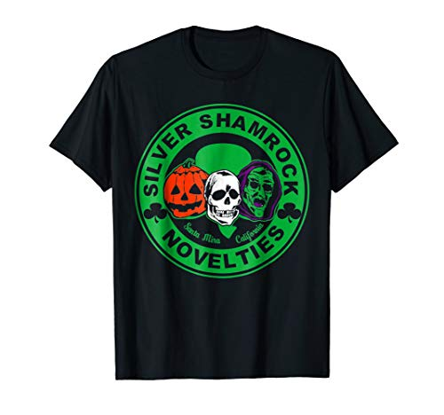 Scary Halloween Silver Shamrock Novelties T-Shirt -