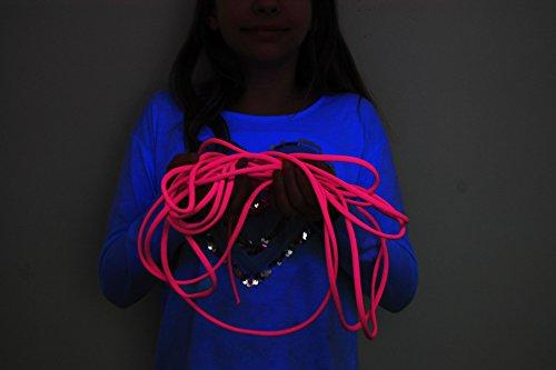 Blacklight Glo-Line Luminescent Roping (Pink, 25 Feet) by DirectGlow LLC