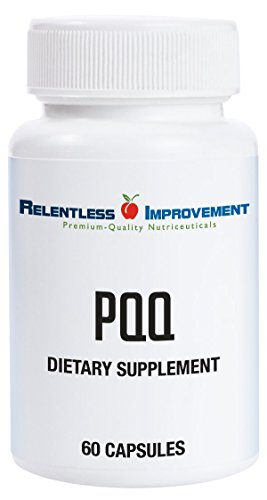 Cheap Relentless Improvement PQQ | NO SILICON DIOXIDE NO MAGNESIUM STEARATE NO ADDED CALCIUM