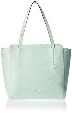 Oroton Women's Avalon Tote Bag, Aquamarine, Small