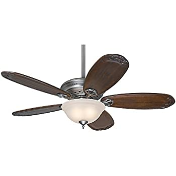 Hunter 54074 teague 54 antique pewter ceiling fan with five hunter 54074 teague 54 antique pewter ceiling fan with five blackened pecan blades mozeypictures Choice Image