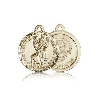 St Christopher Medal - Marine Corps