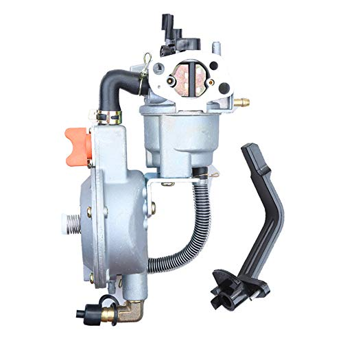 Anxingo Dual Fuel Carburetor for Gasoline Generator LPG CNG Conversion kit 4.5-5.5KW GX390 188F Manual Choke ()