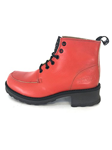 Boots Hurricane 36 Cult Women Red Leather Frisco Mid YxBwp