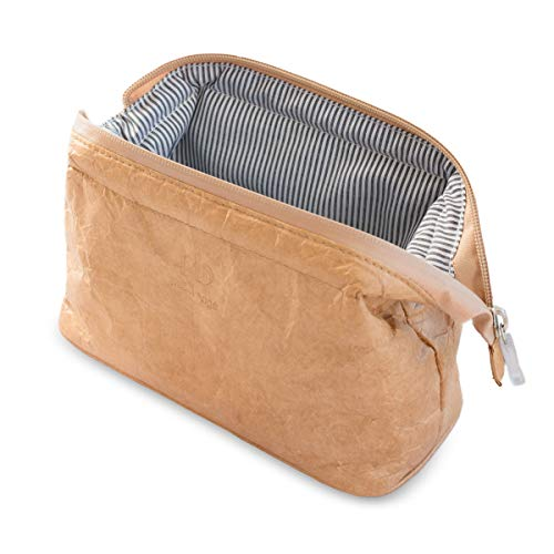 a6311e0d998a Travel Makeup Bag Toiletry Cosmetic Bag Organizer Pouch Lightweight  Waterproof Case with Zipper