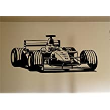Indy Forumla One Race Car Auto Wall Decal Stickers Murals Boys Room Man Cave
