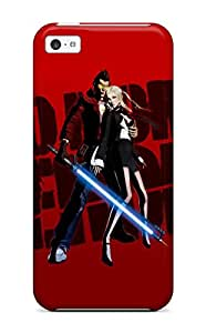 Iphone 5c Case, Premium Protective Case With Awesome Look - No More Heroes Action Adventure Fighting Fantasy Anime Manga