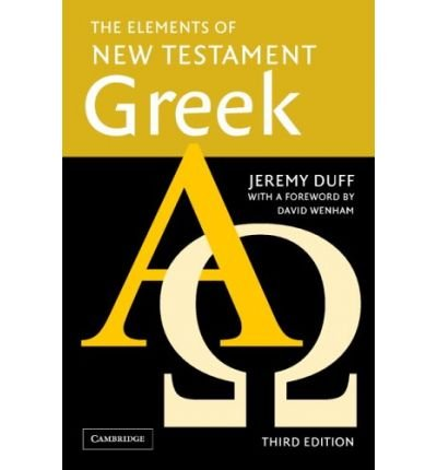 The Elements of New Testament Greek Paperback and Audio CD Pack (Mixed media product) - Common