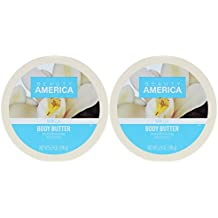 Beauty America Intense Moisturizing Body Butter - Vanilla, 2 pack
