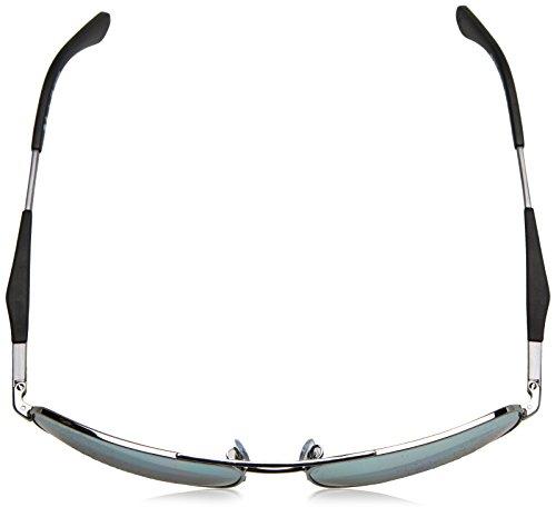 Ray-Ban Mens 0rb3515004/y461steel Man Polarized Iridium Square Sunglasses, Gunmetal, 61 mm