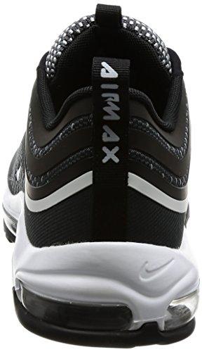 Nike Air Max 97 Ultra 2017 Lifestyle Casual Schoenen Mode Heren Zwart / Zuiver Platina-antraciet Nieuwe 918356-001 Zwart / Zuiver Platina-antraciet