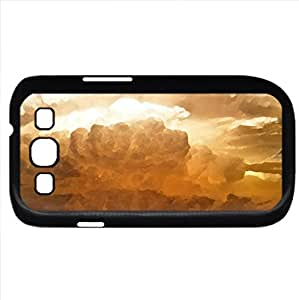 wonderful anvil cloud (Sky Series) Watercolor style - Case Cover For Samsung Galaxy S3 i9300 (Black)
