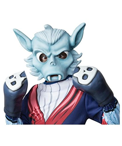 Skylanders Swap Force Night Shift Boxing Costume Gloves (Fancy Dress Boxing Gloves)