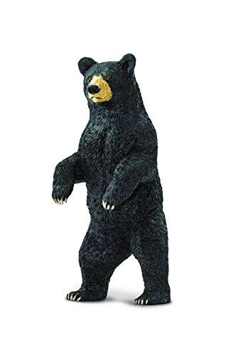 Black Bear Figurine - Safari Ltd Wild North American Wildlife Black Bear