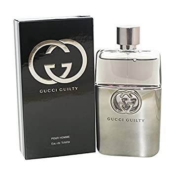 641b4a0e96d7f Amazon.com   Gucci Guilty Eau De Toilette Spray for Men, 3.0 Ounce   Eau De  Toilettes   Beauty