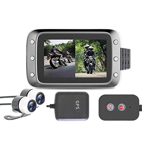 MOGOI Motorcycle Dash Cam, 1080p 3.0' LCD Screen Waterproof 140 Degree...
