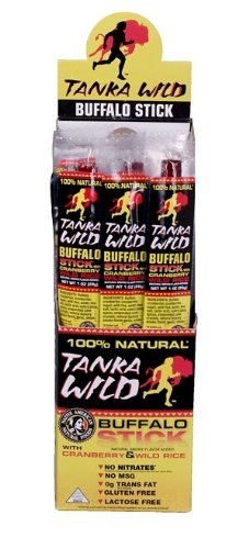 Tanka Bar Regular Wild Snack Stick, 1 Ounce - 24 per case.