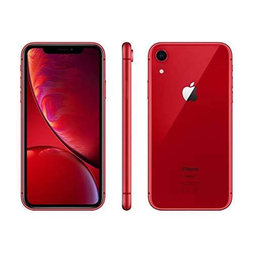 Apple iPhone XR, 64GB, Red – Fully Unlocked (Renewed)