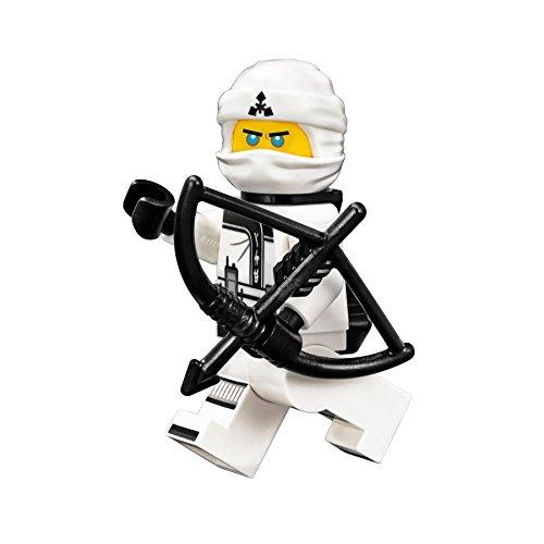 LEGO Ninjago Movie Minfigure: Zane (In Ninja Suit w/ Quiver) - Black Zane