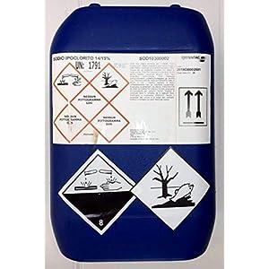 25 kg Cloro Liquido per Piscine Utilizzabile Anche con Pompe Dosatrici 41uzfacTizL. SS300