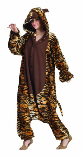 RG Costumes Taylor The Tiger, Brown/Black/Orange, One Size (Tiger Costume Adults)