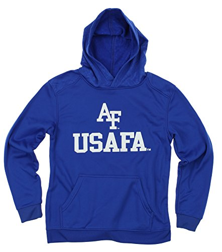 (Outerstuff NCAA Big Boys Youth Performance Hoodie (8-18), Air Force Falcons)