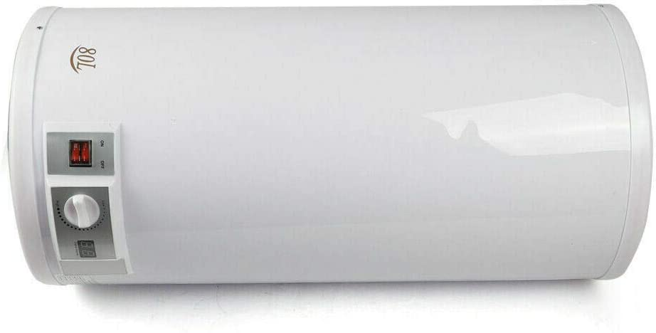 2000 Watt Horizontal wandh/ängender Elektro Warmwasserspeicher Boiler Berkalash 80L Elektro Warmwasserspeicher LED-Temperaturanzeige Warmwasserkessel