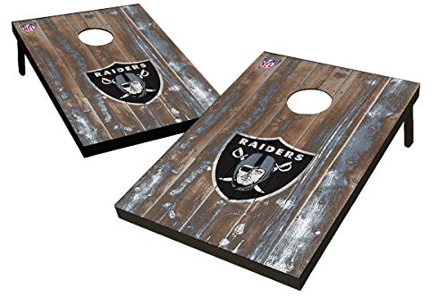 Wild Sports NFL Oakland Raiders Unisex Oakland Raiders Tailgate Toss Bean Bag Gameoakland Raiders Tailgate Toss Bean Bag Game, Team Color, 2'x3'