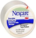 Nexcare Durapore Durable Cloth Tape 2 Inches X 10 Yards - 6 ct, Pack of 6