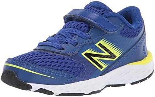 New Balance Kids' 680 V6 Alternative Closure Running Shoe