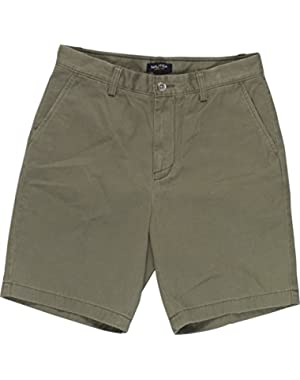 Men's Flat-Front Deck Shorts 30W Mink