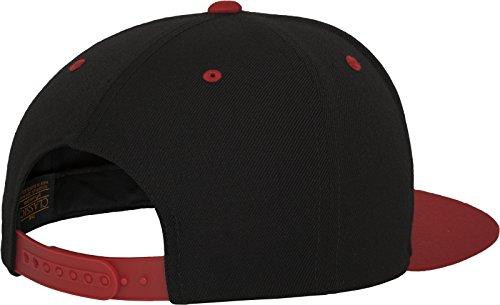 Gorro Talla tone Blk única Flexfit 2 Mütze Red Multicolor Snapback unisex Classic wFI4gXq40