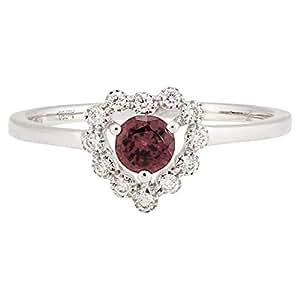365Love Women's 18K Gold Diamond Ring - 13 US