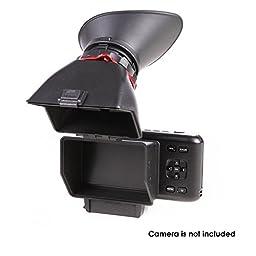 Authentic Kamerar QV-1 LCD Viewfinder View Finder for BMPCC (Black Magic Pocket Cinema Camera)