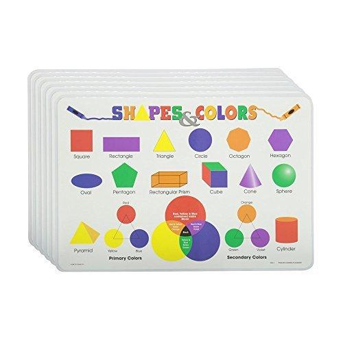 最安値級価格 M. Shapes [並行輸入品] Ruskin Company Shapes M. & Colors Placemat Set of 6 [並行輸入品] B077QHNNFL, ジパング:0a0c035f --- a0267596.xsph.ru