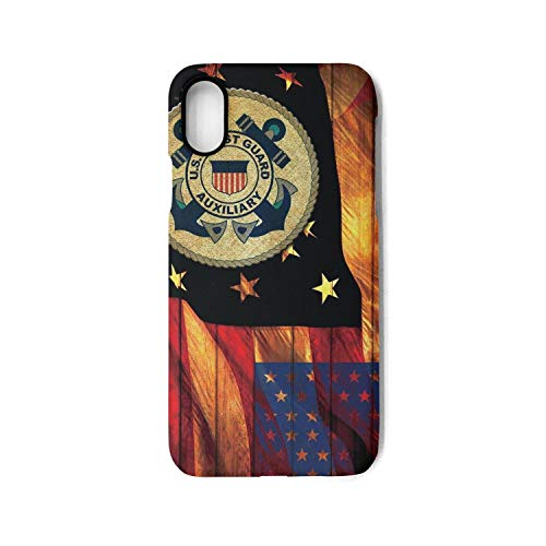 - Funny US Coast Guard USCG iPhone Case for iPhone X Case with Design Cell Phone Ultra Thin Bumper Anti-Drop-Scratch TPU Frame 5.8