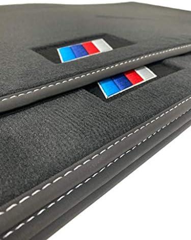 Accesorionline Alfombrillas Velour Elegance para BMW Serie 5 GT 2009-2017 Medidas y Anclajes Originales M/áxima Calidad de moqueta
