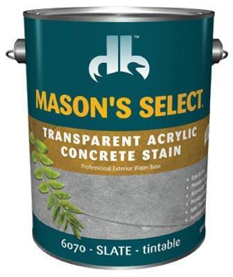 - Mason'S Select Transparent Concrete Stain Slate 1 Gl
