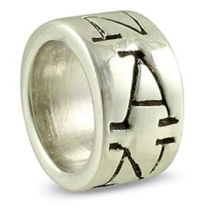 .925 Sterling Silver NANA Spacer Bead for European Charm Bracelet