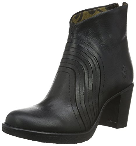 FLY London Hula776fly, Botines para Mujer Negro (Black 000)