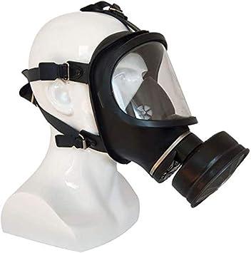 Xuanku Máscara De Ojo Completo Facetas Máscara De Gas Auto-Cebado De Tipo De Filtro para La Protección contra Humos Bacterianas Y Polvo Respiratoria Industrial En Diversos Grupos De